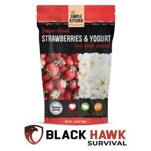 4% Off Freeze-Dried Strawberries & Yogurt - 6 Pack