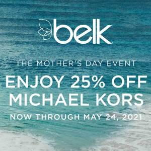 The Mother's Day Event: 25% Off Michael Kors