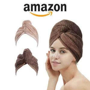 32% Off 2 Pack Hair Drying Towels