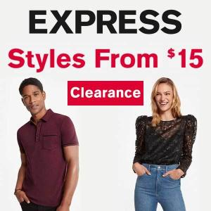 Clearance Sale From $15