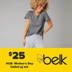 $25 Hue Mother's Day Folded PJ Set