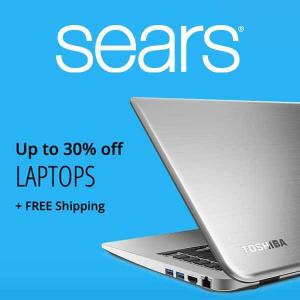 Up to 30% Off Laptops + Free Shipping