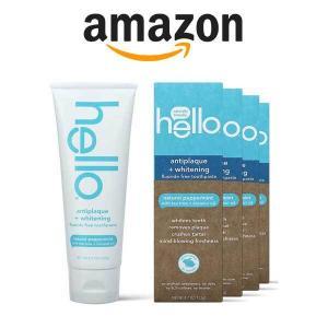 41% Off Hello Fluoride Free Antiplaque & Whitening Toothpaste