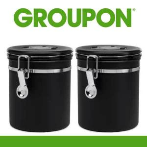 9% Off 2 Pack ChefWave Vacuum Sealed Coffee Canister