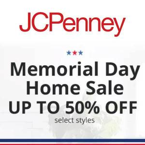 Memorial Day Home Sale Up to 50% Off