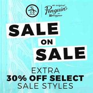 Extra 30% Off Select Sale Styles