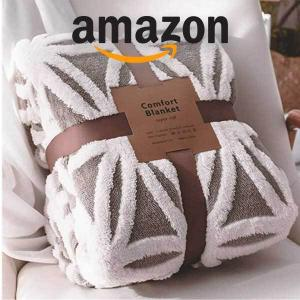 15% Off LOMAO Sherpa Fleece Blanket