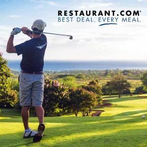 Nationwide Annual Golf Membership + $50 Restaurant.com eGift Card for $49