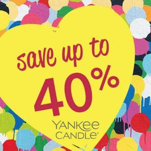 Semi-Annual Clearance Sale: Up to 40% Off Candles