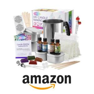 33% Off CraftZee Complete DIY Candle Making Kit Supplies