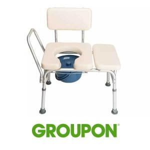 31% Off Adjustable Cushioned Commode Chair