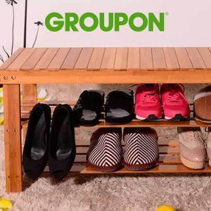 35% Off Bamboo Shoe Rack Storage