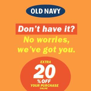 Ends 6/13: Extra 20% Off Your Purchase