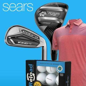 40% Off Golf Gear & Apparel