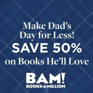 50% Off Just In Time for Father's Day