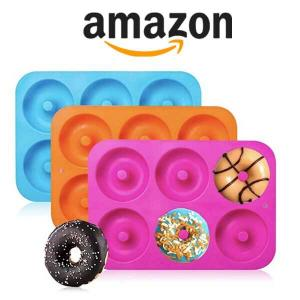 15% Off 3-Pack Silicone Donut Baking Pan