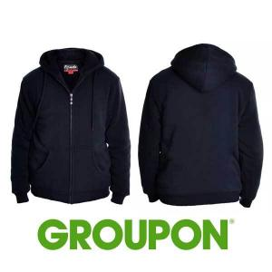 Up to 58% Off Sherpa-Lined Hoodie Jacket