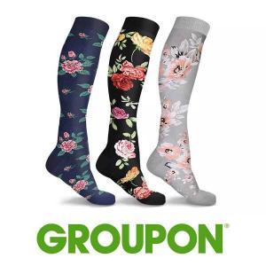 87% Off DCF Floral Compression Socks