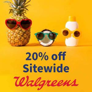 20% Off Sitewide Regular Price Items