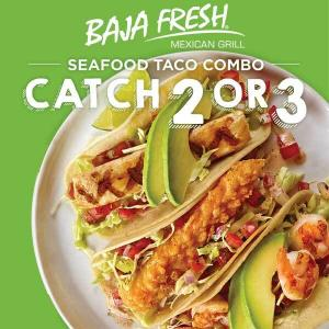 Seafood Taco Combo Catch 2 or 3 Mix & Match