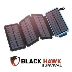 4% Off Tactical 4-Fold Solar USB Power Bank