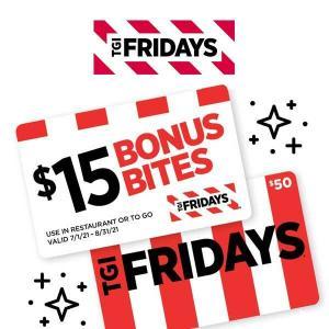 Purchase $50 E-Gift Cards, Get $15 Bonus Bites