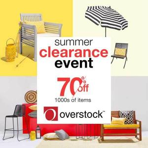 Summer Clearance Event: Up to 70% Off 1000s Items