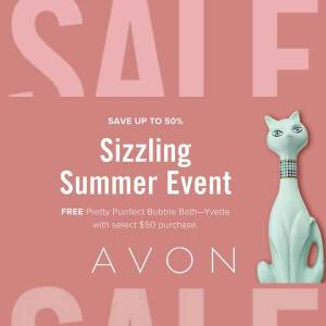 Sizzling Summer Event: Save Up to 50%