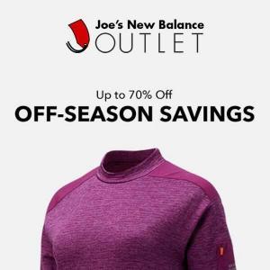 Up to 70% Off Off-Season Savings