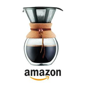 22% Off Bodum Pour Over Coffee Maker with Double Wall Cork