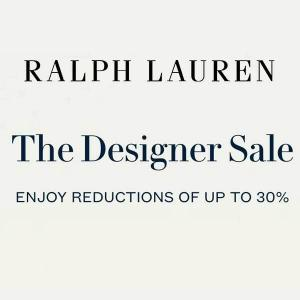 The Designer Sale: Up to 30% Off