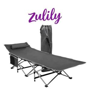 50% Off  Gray Foldable Camping Cot