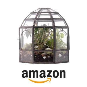 50% Off Urban Born Birdcage Large Glass Terrarium
