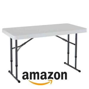 15% Off Commercial Height Adjustable Folding Utility Table