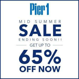 Mid-Summer Sale: Up to 65% Off