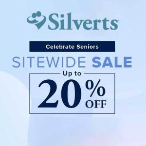 Celebrate Seniors: Sitewide Sale Up to 20% Off