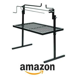 38% off Texsport Heavy Duty Adjustable Outdoor Camping Rotisserie Grill and Spit