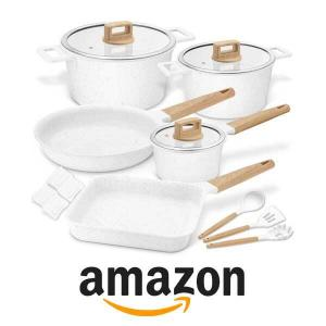 5% Off 15 Pc Cooklover Non-Stick Scratch Resistant Cookware Set