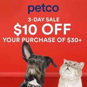 $10 Off $30+ Purchase