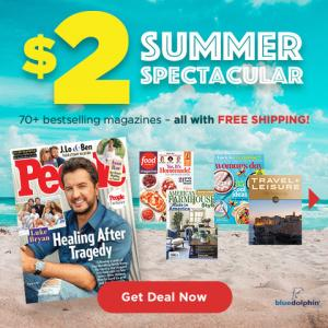 Up to 6 Magazine Subscriptions for Only $2 Each