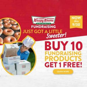 Buy 10 Fundraising Products, Get 1 Free