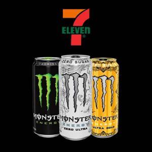 3/$5.50 Monster Energy