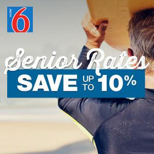 Seniors Save Even More: 10% Off Nightly Rate