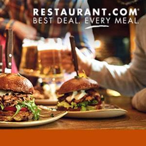 (3) $100 Restaurant.com eGift Cards for $48