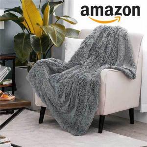 15% Off Bedsure Soft Fuzzy Faux Fur Sherpa Fleece Throw Blanket