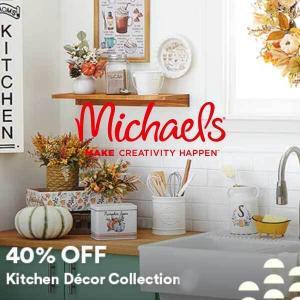 40% Off Kitchen Decor Collection
