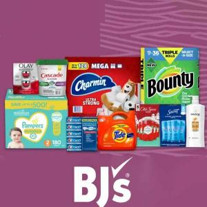 FREE $25 BJ's Gift Card When You Spend $100 on Qualifying Items