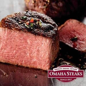 50% Off Sitewide + 4 Free Omaha Steaks Burgers