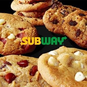Free Five Cookies & $0 Delivery Fee