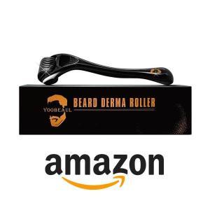 15% Off Beard Derma Roller for Beard Growth & Care